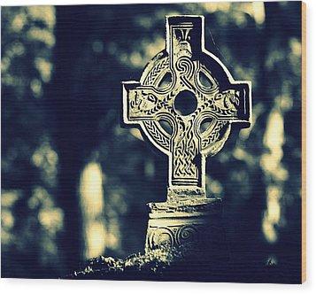 Renaissance Cross Wood Print by Joseph Skompski