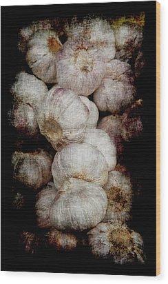 Renaissance Garlic Wood Print