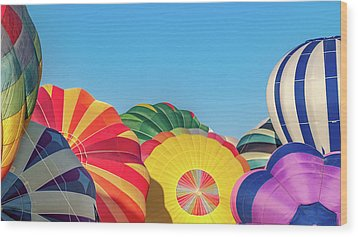 Wood Print featuring the photograph Reno Balloon Races by Bill Gallagher