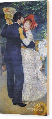 Renoir: Dancing, 1883 Wood Print by Granger