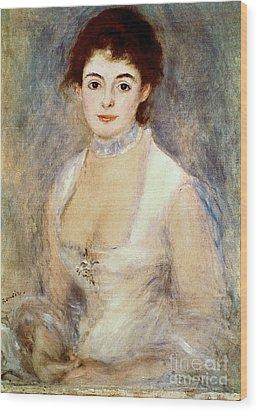 Renoir: Madame Henriot Wood Print by Granger