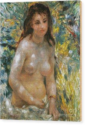 Renoir: Torso, C1876 Wood Print by Granger