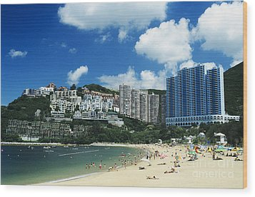Repulse Bay Wood Print by Gloria and Richard Maschmeyer - Printscapes