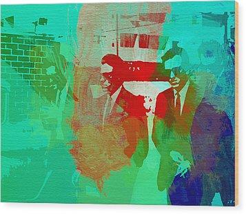 Reservoir Dogs Wood Print by Naxart Studio