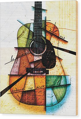 Resonancia En Colores Wood Print by Gary Bodnar