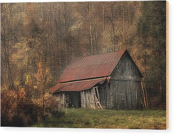 Resting Place Wood Print