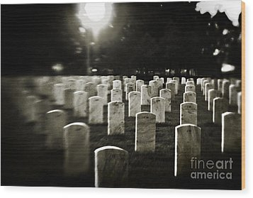 Resting Place Wood Print by Scott Pellegrin