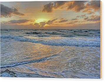 Wood Print featuring the photograph Restless by HH Photography of Florida