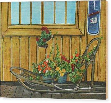 Retired Wood Print by Amy Reisland-Speer