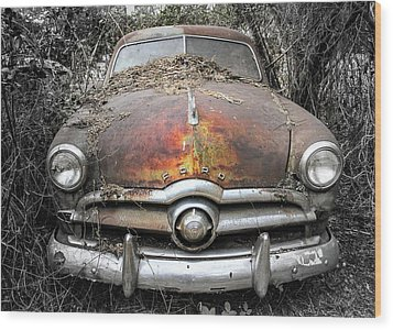 Retired Wood Print by Patrice Zinck