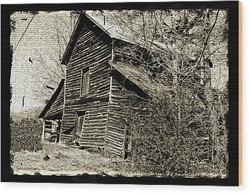 Wood Print featuring the photograph Retro Barn by Larry Bishop
