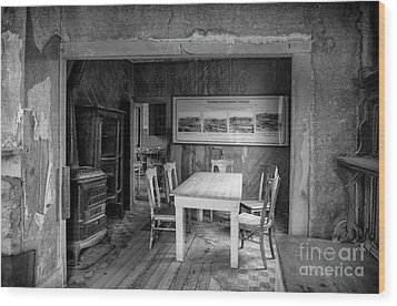 Wood Print featuring the photograph Returning To The Past by Sandra Bronstein