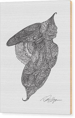 Revelation Drifter Wood Print by Dan Heynen