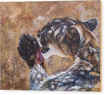 Reverie Wood Print by J W Baker