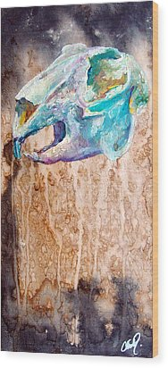 Revolution Jack Rabbit Wood Print by Christy  Freeman