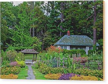 Reynolda Gardens Wood Print