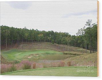 Reynolds Plantation Golf Ga Usa Wood Print by Jan Daniels