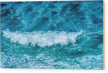 Wood Print featuring the photograph Rhythm Of Waves by Marion McCristall
