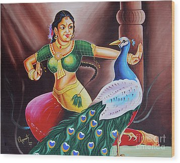 Rhythms Of Tradition Wood Print by Ragunath Venkatraman