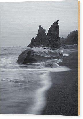 Rialto View Wood Print by Mike  Dawson