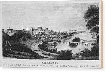 Richmond, Virginia, 1856 Wood Print by Granger