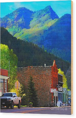 Rico Colorado Wood Print by Annie Gibbons