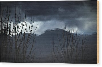 Wood Print featuring the photograph Ridgeline by Tim Nichols