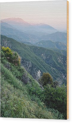 Wood Print featuring the photograph Rim O' The World National Scenic Byway II by Kyle Hanson