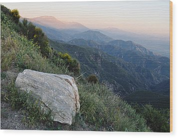 Rim O' The World National Scenic Byway Wood Print by Kyle Hanson