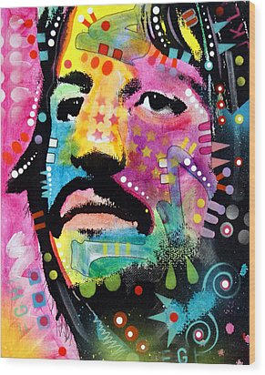 Ringo Starr Wood Print by Dean Russo