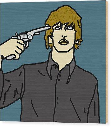Ringo Starr Wood Print by Jera Sky