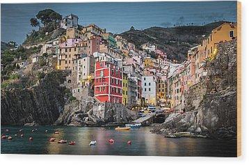 Riomaggiore - Cinque Terre Wood Print