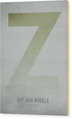 Rip Van Winkle Wood Print by Christian Jackson