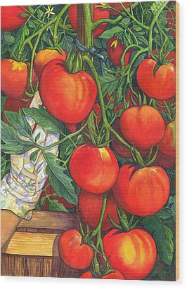 Ripe Wood Print by Catherine G McElroy