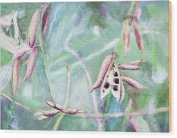 Ripe Seeds Wood Print