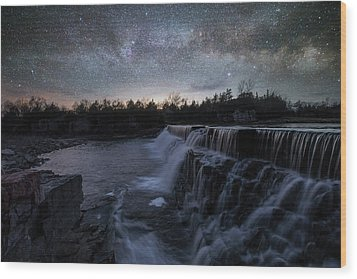 Wood Print featuring the photograph Rise And Fall by Aaron J Groen