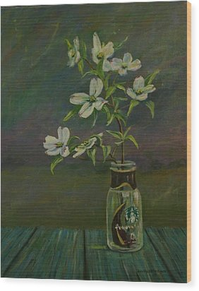 Rise And Shine Wood Print by Dorothy Allston Rogers