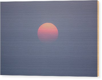 Wood Print featuring the photograph Rising Sun by Davorin Mance