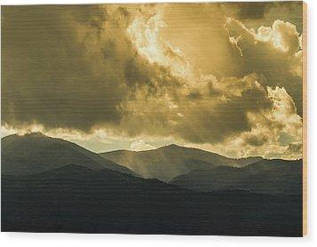 Ruidoso Rays Wood Print