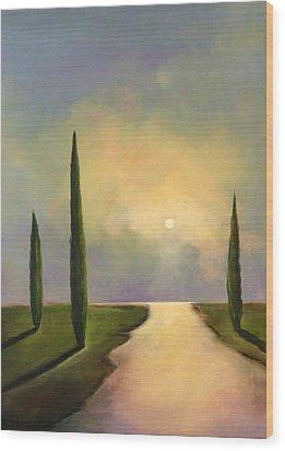 River Dreams Wood Print by Toni Grote