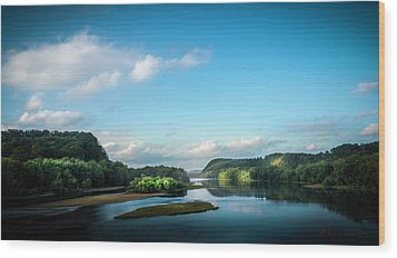 Wood Print featuring the photograph River Islands by Marvin Spates