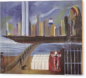 River Of Babylon  Wood Print by Ikahl Beckford