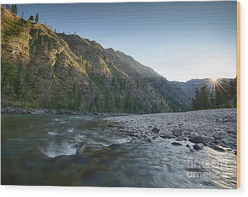River Of No Return Wood Print by Idaho Scenic Images Linda Lantzy