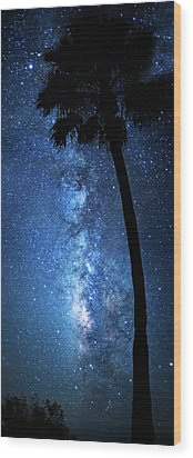 Wood Print featuring the photograph River Of Stars by Mark Andrew Thomas