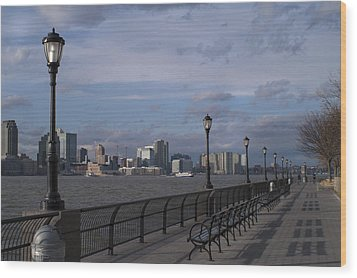 Riverside Park Nyc II Wood Print