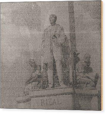 Rizal 1966-67- Full Yashicad Neg Wood Print
