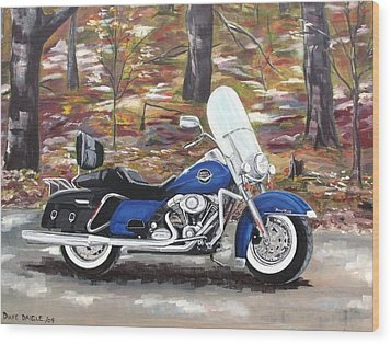 Road King Wood Print