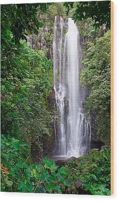 Maui - Road To Hana #2 Wood Print by Francesco Emanuele Carucci