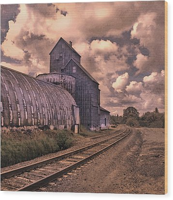 Road To Nowhere Wood Print by Jeff Burgess