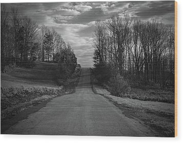 Road To Success Wood Print